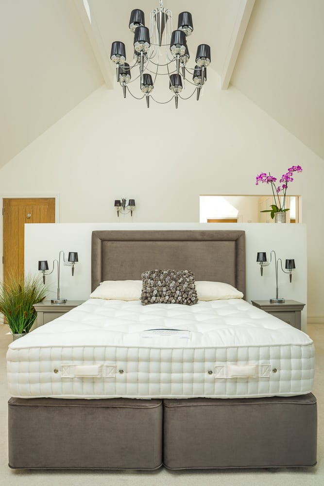 On location product photography for Betteridge Beds