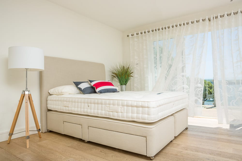 Staged Bed and Mattres Photography