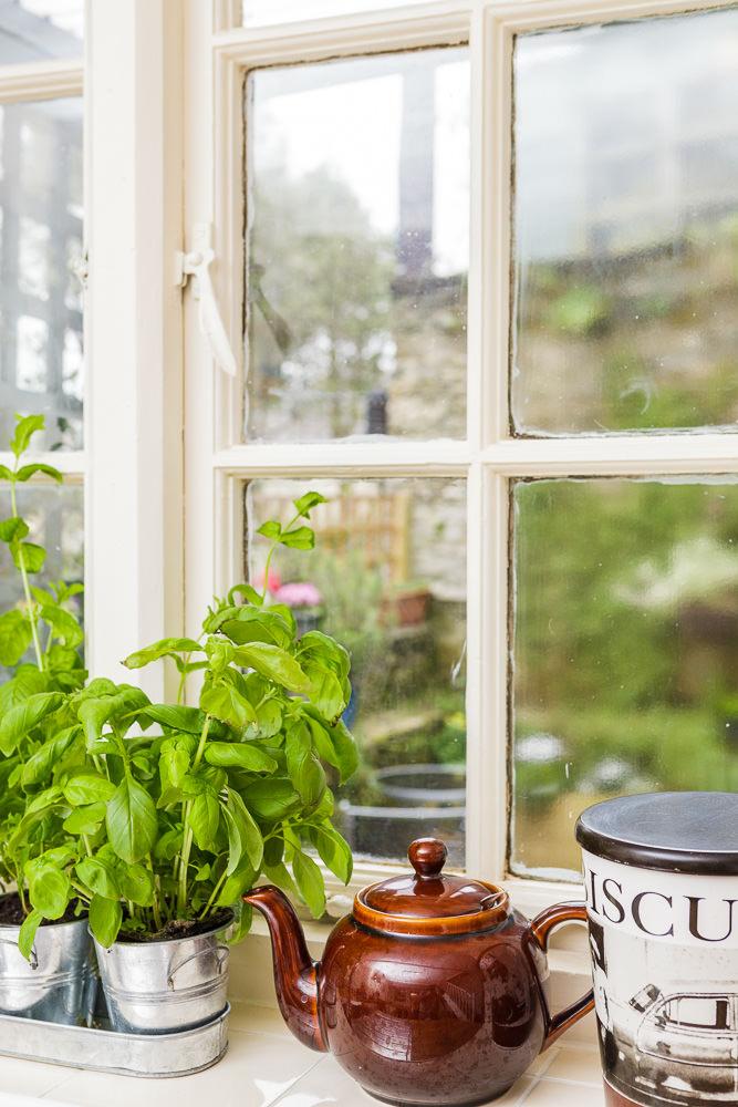 Cottage Kitchen Window