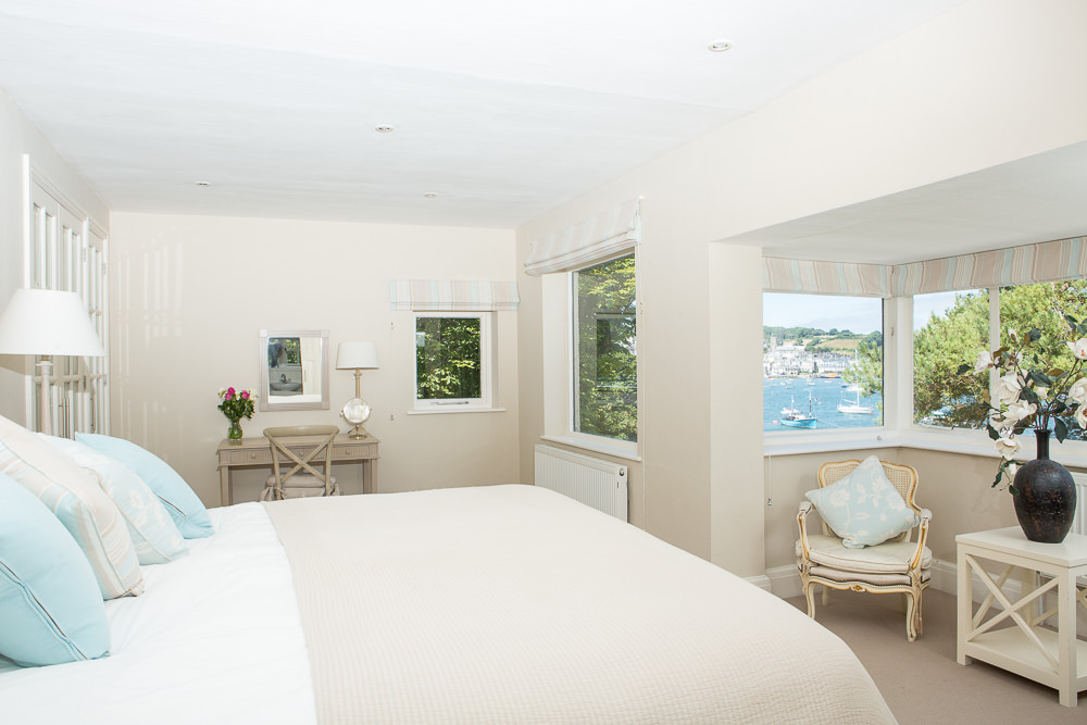 Interior Property shoot with views over Salcombe