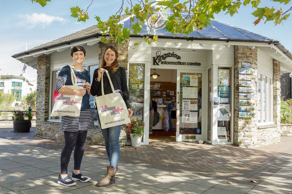 Kingsbridge Information Centre and Less Plastic - Hello Kingsbridge, Goodbye Plastic
