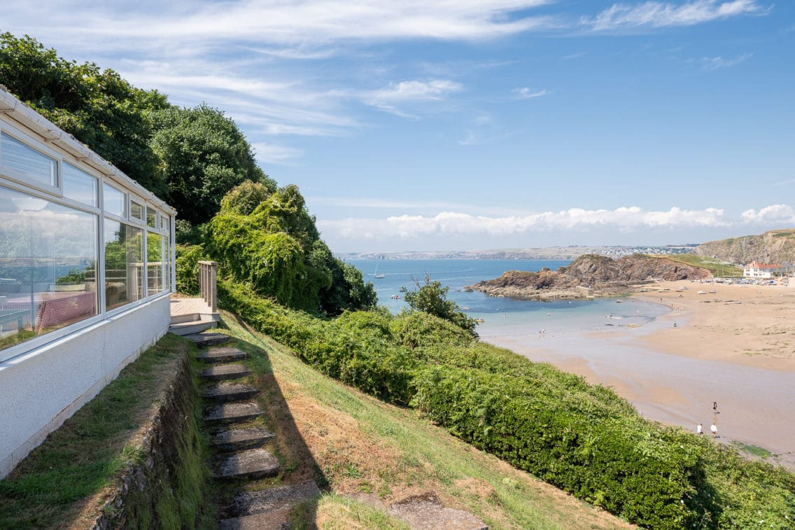Views over Hope Cover from Devon Holiday Let