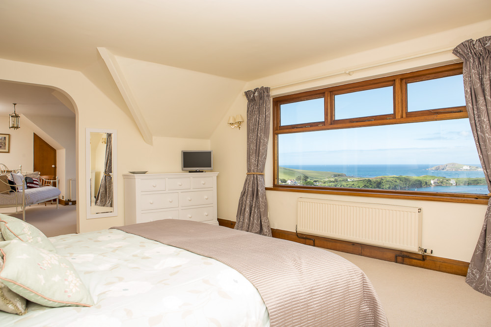 Bedroom with a view - Interior Photography