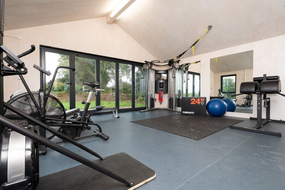 Home Gym by MBM Builders