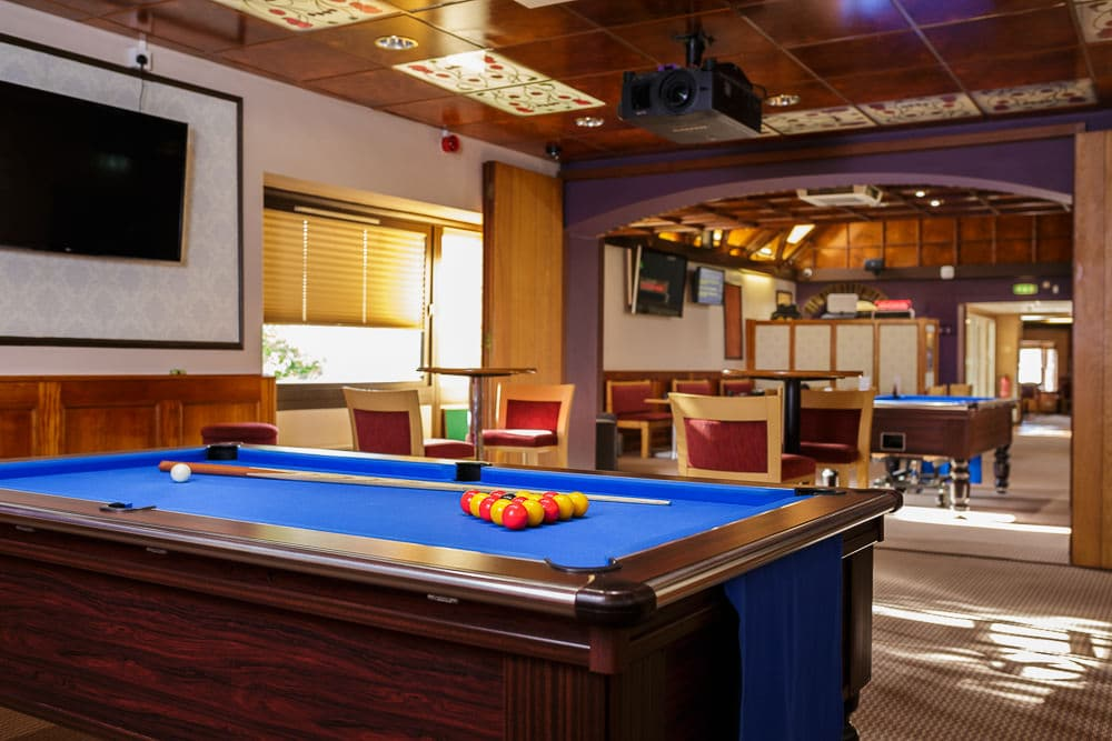 Pool tables at the Regal, Kingsbridge
