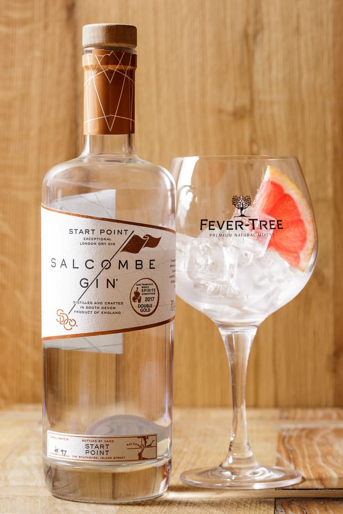 Salcombe Gin and Fever-Tree tonic at the Regal