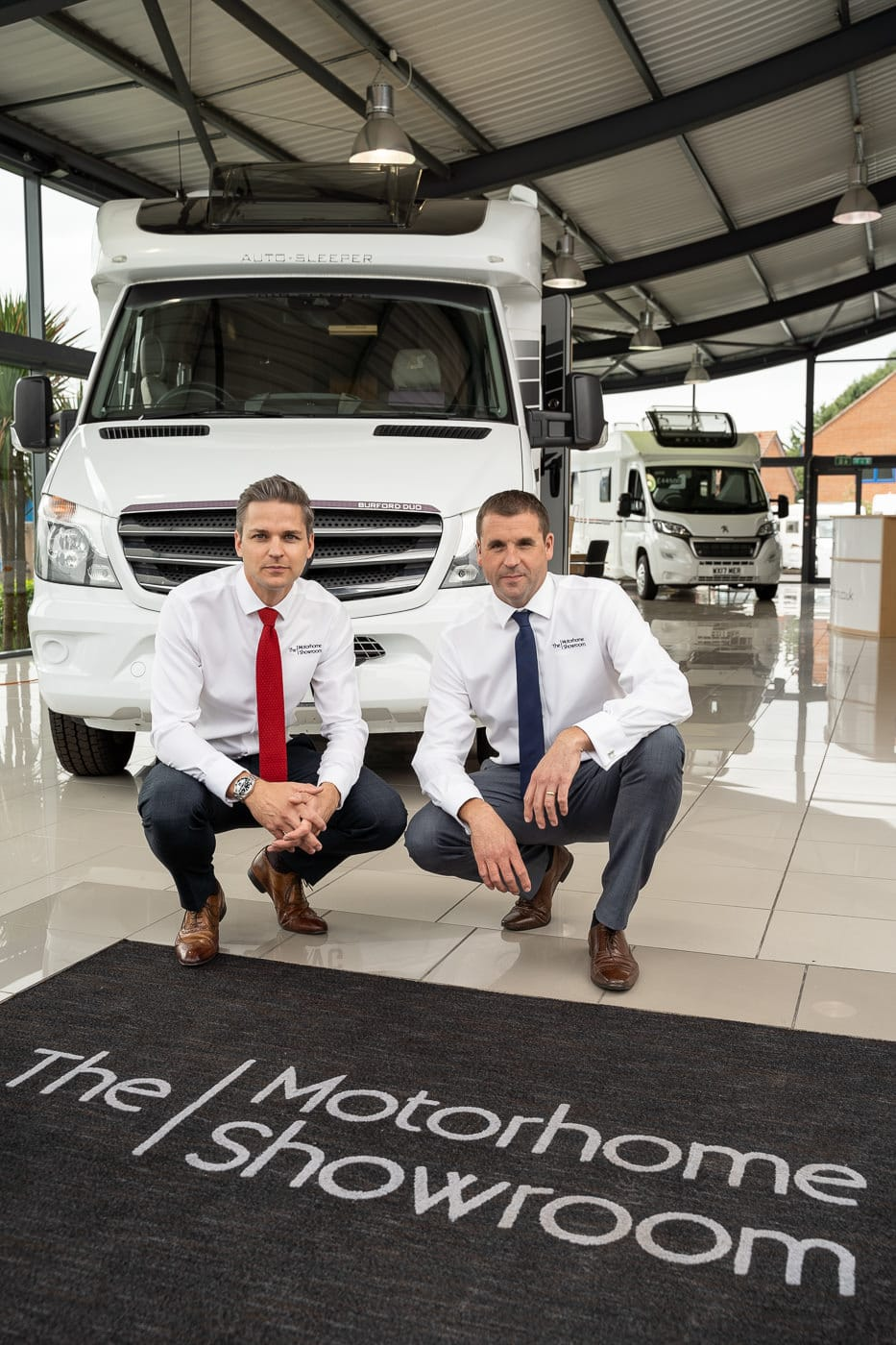 The Motorhome showroom directors