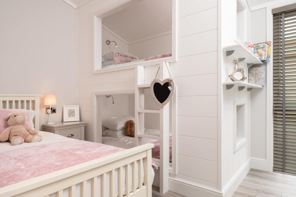 Childrens bedroom in holiday let