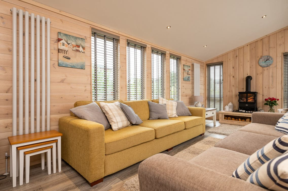 Interior Photography of Holiday Lodge