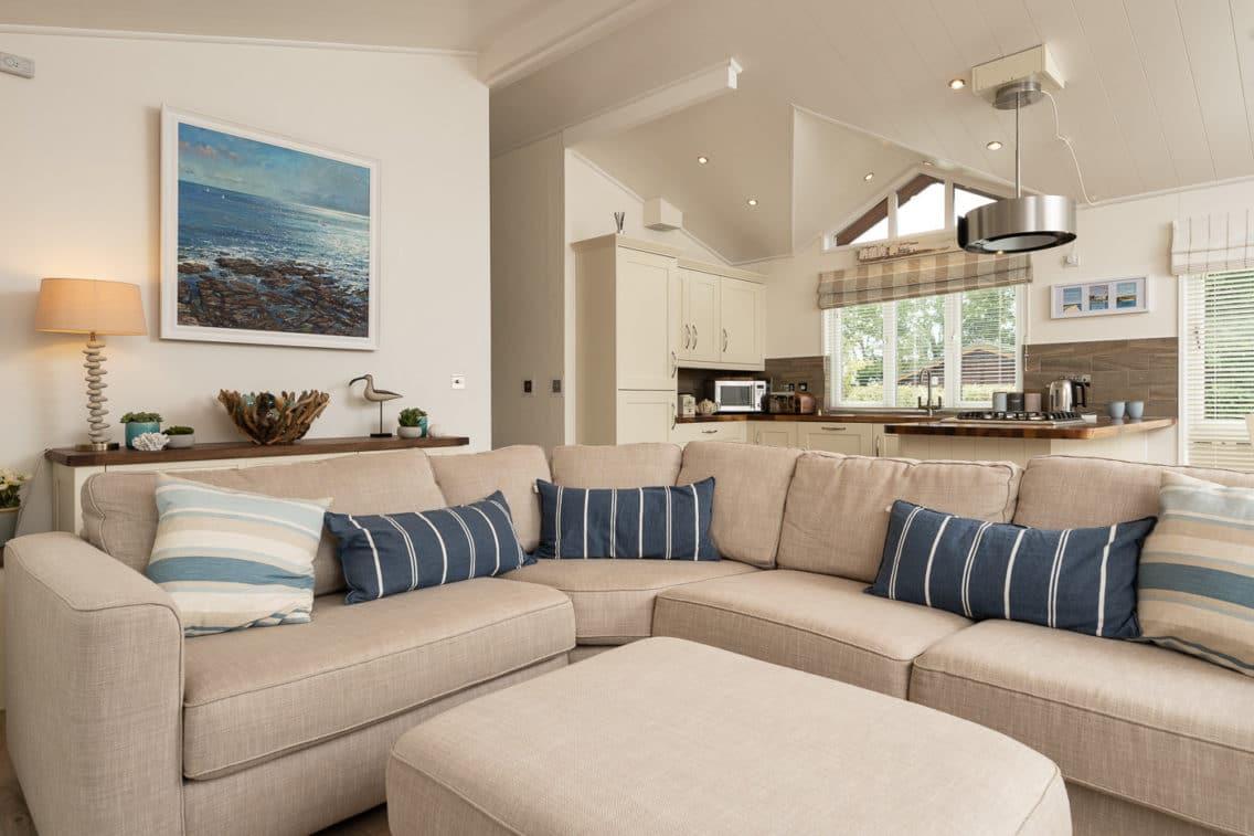 Lounge area of Holiday Lodge
