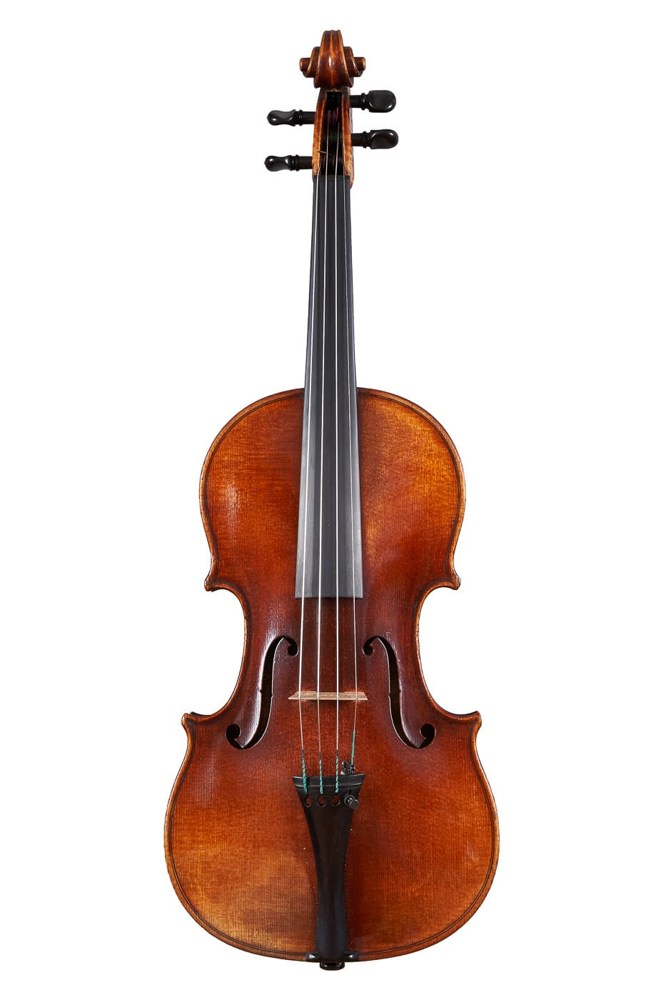 A beautiful example of a restored violin