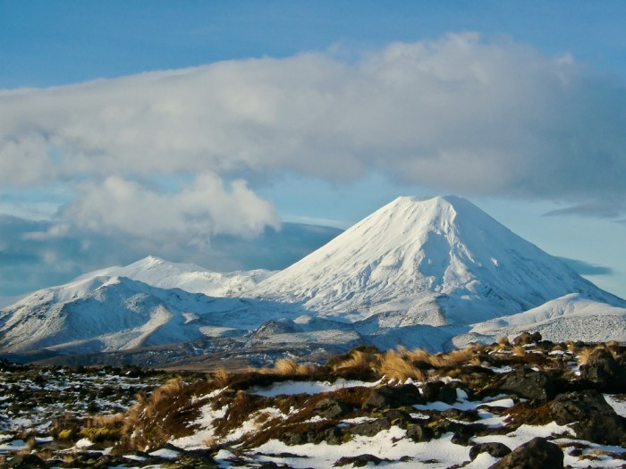 Mount Ngauruhoe, North Island, New Zealand